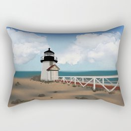 Brant Point Light Rectangular Pillow