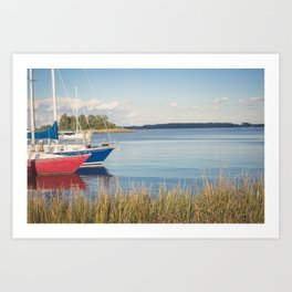 Morning on Chesapeake Bay, No. 2 Art Print