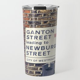London street sign Travel Mug