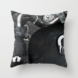 Gasoline Throw Pillow