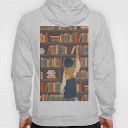 Library Love Hoody