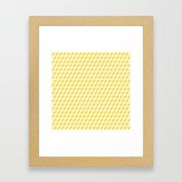 Gold shades Framed Art Print