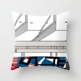 Aula Magna UCV -Detail- Throw Pillow
