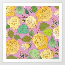 Roses 7 Art Print