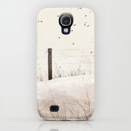 Roadside fence iPhone Case