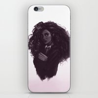 hermione iPhone & iPod Skins featuring Hermione by Alexander Scott