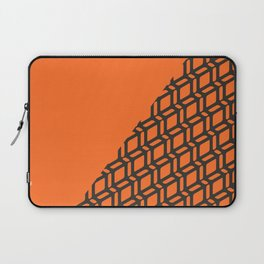 Papaya Split Geo Bespoke Laptop Sleeve