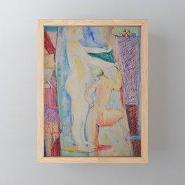 Love at first sight Framed Mini Art Print