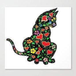 Catscratch Canvas Print