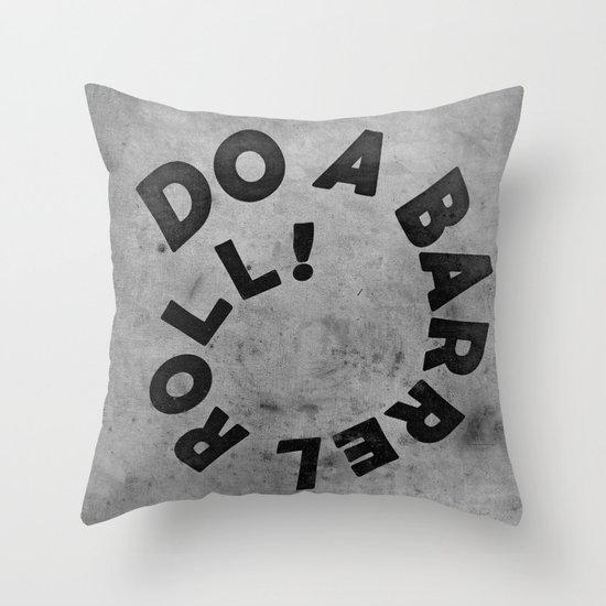 STARFOX - DO A BARREL ROLL! Throw Pillow