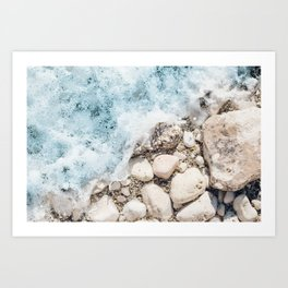 Wave On Art Print