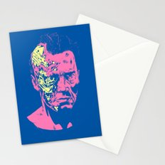 Terminator (neon) Stationery Cards