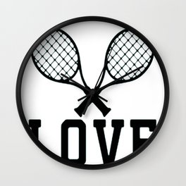 YOU GET NO LOVE FROM ME Wall Clock