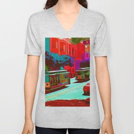 San Francisco 005 Unisex V-Neck