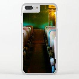 Train Ride Clear iPhone Case