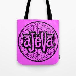 Ajeva Logo Pink Tote Bag