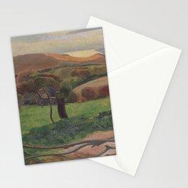 Paul Gauguin - Landscape from Bretagne (1889) Stationery Cards