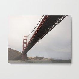 Red Bridge 2 Metal Print