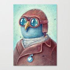 Pilot Captain Ivan Twittor Canvas Print