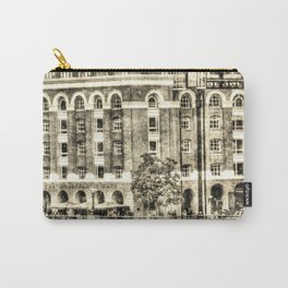 Hays Galleria London Vintage Carry-All Pouch