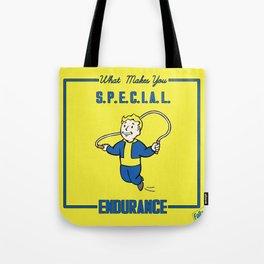 Endurance S.P.E.C.I.A.L. Fallout 4 Tote Bag