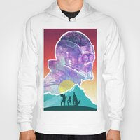 starlord Hoodies featuring Starlord...Who? by Damian Santamaria