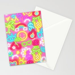 Neon Barbie Stationery Cards