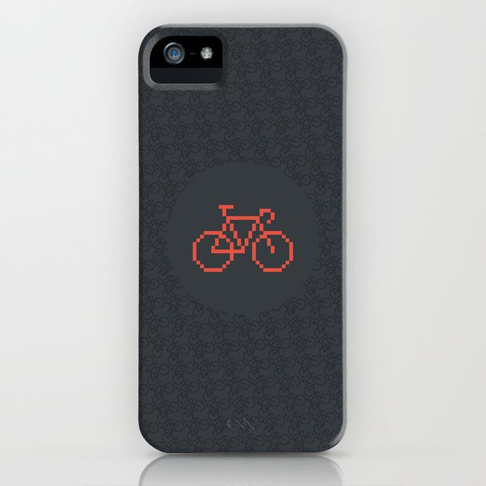 Pixelbike iPhone Case