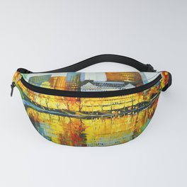 Plaza Central Park Hotel in New York Fanny Pack
