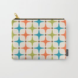Mid Century Modern Star Pattern 821 Carry-All Pouch