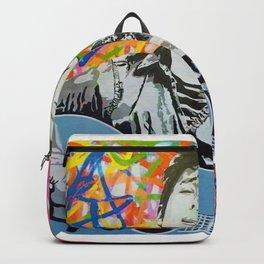 Rare Bob Dylan Lithograph Pop Art Concert Gig Poster Backpack