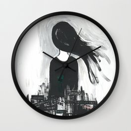Sketch Series 002 Wall Clock