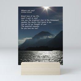 Where are you? Mini Art Print