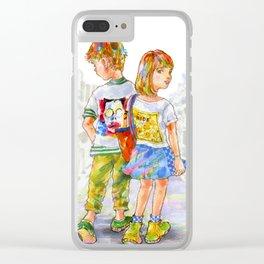 Pop Kids vol.10 Clear iPhone Case