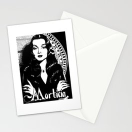 morticiaaddams Stationery Cards