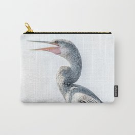 Snake Bird: Anhinga Carry-All Pouch