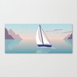 voilier Canvas Print
