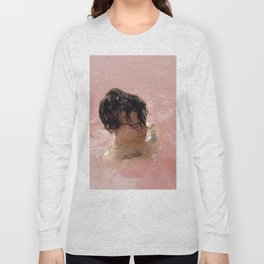 Harry Style Pink Long Sleeve T-shirt