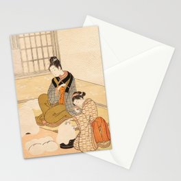 Evening Snow Stationery Cards