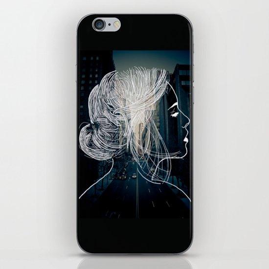 The woman who never sleep iPhone & iPod Skin