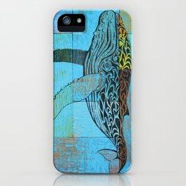 Humpback Whale  iPhone Case