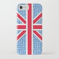 union jack iPhone & iPod Cases featuring Union Jack by Cats Hand