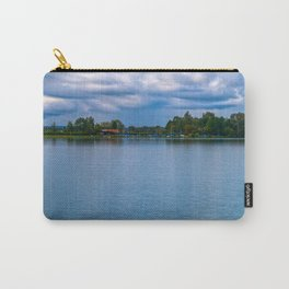 Sailing boats harbor Carry-All Pouch