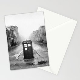 Tardis And The Old City Stationery Cards