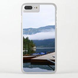 Slovenia Clear iPhone Case