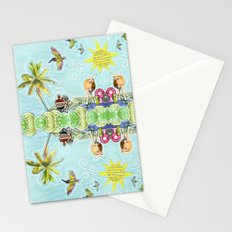 An Odd Island Scene Stationery Cards