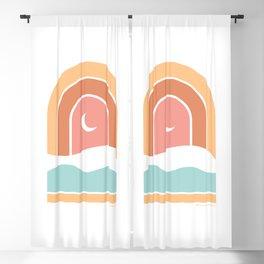 Rainbow Moon Blackout Curtain