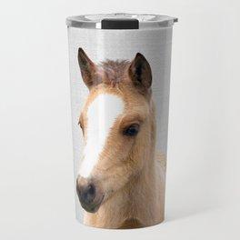 Baby Horse - Colorful Travel Mug