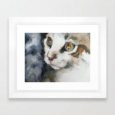 cat#13 Framed Art Print