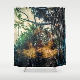 Tree Lanka Shower Curtain